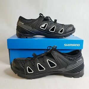 Shimano SH-CT46LW CLICKR SPD Casual Vented Unisex Cycling Shoes Black New
