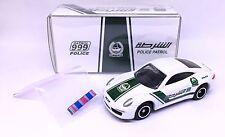 NEW JAPAN TOMY TOMICA DUBAI POLICE PATROL PORSCHE 911 1/64 DIECAST LIMITED RARE