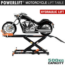 Motorcycle Lift Table Hydraulic 500kg Bike Jack Mechanic Stand Hoist Lifter