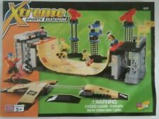 Mega Bloks Set 9157 Xtreme Sports Skatepark with Instructions + Extra Parts EX