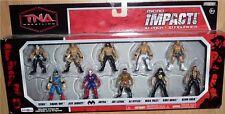 TNA Jakks Impact Wrestling Micro 10 Pack 2 Inch Figures Sting Mick Foley Angle