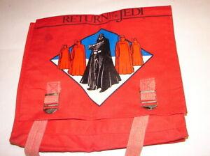 Star Wars Vintage Kenner ROTJ Darth Vader Back pack book school  bag   80'  320