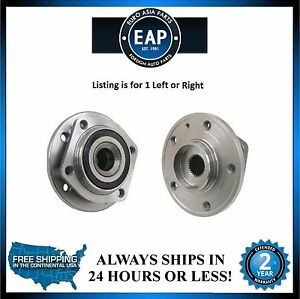 For Volvo 850 C70 S70 V70 2.3L 2.4L 5cyl (1) Front Wheel Hub Bearing NEW
