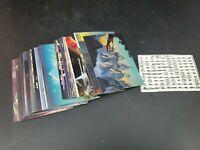 THE FANTASY ART of ROGER DEAN (FPG/1993) Trading Card Starter Set 62 cards MT