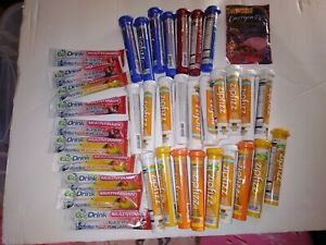 ZipFizz Ecodrink Energy Drink lot VARIETY Orange/Mango/Tea/Raspberry/Blueberry