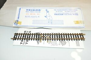 HO scale track brass Walthers Trigor Track for signal activation operation