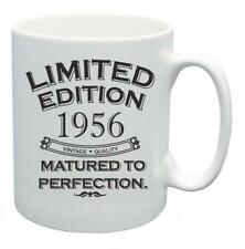 62nd Novelty Birthday Gift Tea Mug 1956 Matured To Perfection Limited Coffee Cup