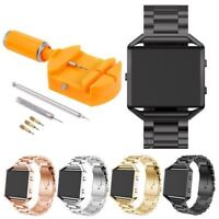 Luxury Stainless Steel Metal Frame Strap Frame Wrist Band For Fitbit Blaze Watch