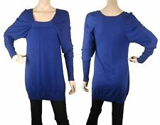 ConMiGo CD500 blue fitted fine jumper