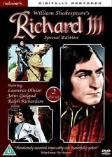 RICHARD III Special Edition. Laurence Olivier. 2 discs. New sealed DVD.