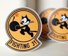 "Cartoon Felix The Cat Fighting 31 Vintage Retro 4"" Decal Sticker #3801"