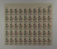 US SCOTT 1823 PANE OF 50 EMILY BISSELL STAMPS 15 CENT FACE MNH