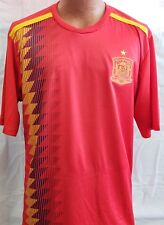 New! Red Spain National Soccer Team jersey Russia 2018