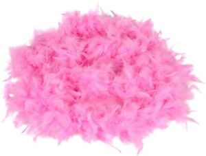 Pink Feather Boa (7ft) Girls Dress up Costume Pink Boa by Lil Princess