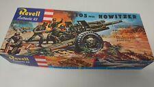 Revell 105mm Howitzer Plastic Model Kit