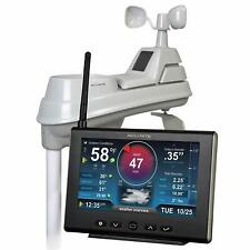 5 in 1 Weather Station HD Display Wireless Sensor Accurately Measures Rainfall