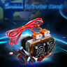 "24V MK8 1/64"" Nozzle Upgrade Thermistor Extruder Dual Print Head For 3D Printer"