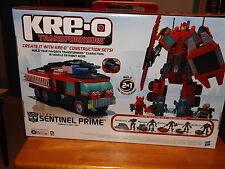 KRE-O TRANSFORMERS SENTINEL PRIME KIT #30687, 2 IN 1 KIT, NEW IN BOX, 2010