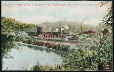 VANDERGRIFT PA A S & T P Company Plant Antique Postcard Early Old Vtg PC