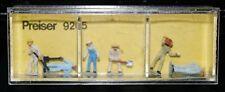 Preiser, Vintage, NiB, Item # 9205 N scale Track Maintenance Group *