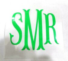 "Diy 5"" Iron On Vinyl Monogram FishyTailz U Pick Color Reg or Glitter Ships Free!"