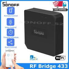 Puente de RF sonoff Wifi 433 Mhz Reemplazo casa inteligente Controladora De Rf Interruptor Remoto