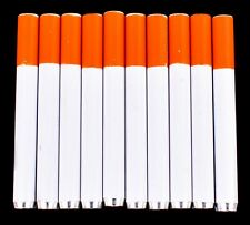 """10x Metal One Hitter Pipe Cigarette Style Dugout Bat Large 3"""" Free Shipping Usa"""