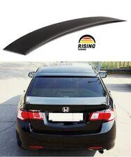 Rear window lip spoiler for Honda Accord 8 Acura TSX 08-13 roof cover pad visor