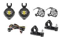 LED Motorrad ZusatzscheinwerferNebelscheinwerfer Set 40 Watt 6000 Kelvin