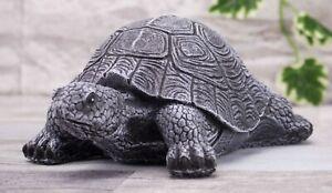 Steinfigur Schildkröte 198/1, Gartenfigur Gartendeko Geschenk Figur Tierfigur