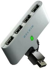 Belkin 4 port USB Powered Swivel Multi USB 2.0 Hub Splitter for PC Mac Laptop