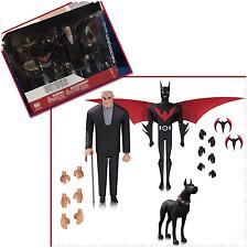 BATMAN ANIMATED BATMAN BEYOND AF 3 PACK DC COMICS