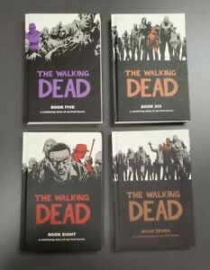 The Walking Dead (Book 5, 6, 7 & 8 Hardcover)