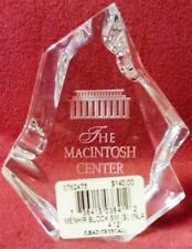 "Baccarat Menhir Block ""Small"" Trophy."