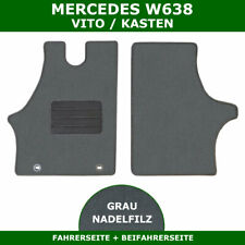 2 Véritable Mercedes Vito Avant Tapis en caoutchouc set wdf639 série 2004 à april2015