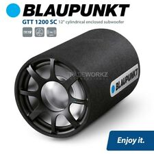 "New BLAUPUNKT GTT 1200 SC Small Tube 12"" Cylindrical Enclosed 700W Car Subwoofer"