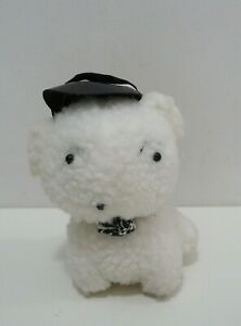 "Crayon Shin Chan Shiro White Dog Taito Vintage Plush 6"" Stuffed Toy Doll Japan"