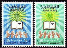 Irak Iraq 1969 ** Mi.580/81 Bildung Education