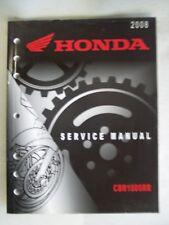 2008 CBR1000RR OEM REPAIR SHOP SERVICE BOOK MANUAL 61MFL00