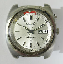 Vintage Seiko 1972 4006-6031 Bellmatic Automatic Alarm Day/Date Mens Steel Watch