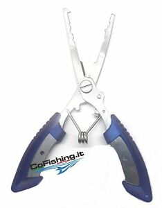 Tongs Fishing Opener Rings Split Scissors Braided Line CF9103 Treble Hooks