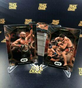 2021 Panini Select UFC Complete Concourse Set (100 cards)