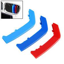 M Color Sport 3D Plastic Kidney Grill Grille Bar Cover Trim Fit BMW 3 Series F30