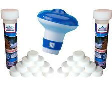 FREE dispenser with Chlorine Tablets x 20 (20g)Clean Swimming Pools and Hot Tubs