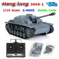 Henglong 3868-1 2.4G 1/16 Scale German III F-8 Assault Cannon RC Model Tank