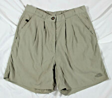 Women's Med. The North Face nylon hiking shorts, beige