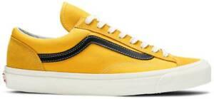 Vans Og Style 36 Lx (Suede/Canvas) Men's Size 13 Shoes Oldgold/Black VN0A4BVEZ6