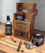JD Jack Daniels Whiskey Rack FATHERS DAY Dad Brother Husband Man Cave fiancè