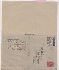 (LA60) 1946 GB 6d KGVI air letter