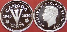 Proof 2020 Canada Victory 5 Cents From Mint's Set